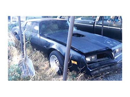 1978 PONTIAC TRANSAM good project car complete have all body parts 3000 OBO