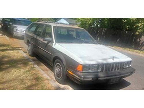 1984 BUICK Sentry wagon 150K 30 lt V6 four mounted studded snow tires second owner bought in 20
