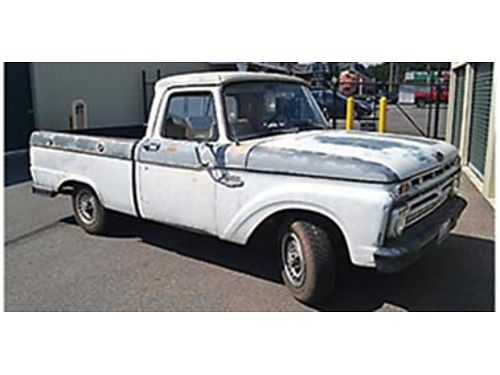 1966 FORD F-100 pickup New tires Ford 351 Windsor engine with 8000 mi Begging for restoration