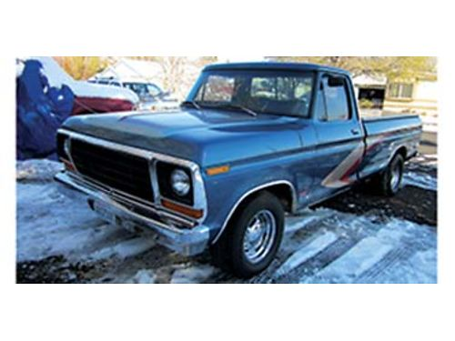 1978 FORD pickup 152MPH  6000 rpm 427HP on gasoline 408 CI trick flow alum