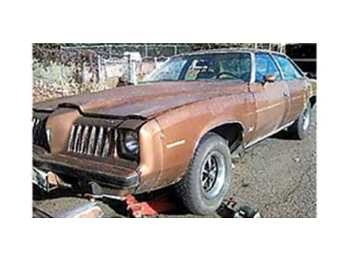 1974 PONTIAC Grand AM 400 4 barrel turbo 400 371 gears with trailer hitch 4
