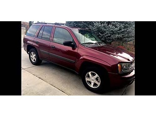 2005 CHEVY TRAILBLAZER 4x4 wAWD feature Excelent conditon New front breakscalipers Only 40k Mil