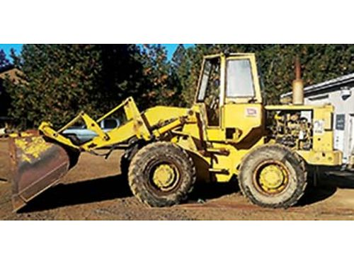930 CAT WHEEL loader 2 buckets blade  set of forks all quick detachable 19