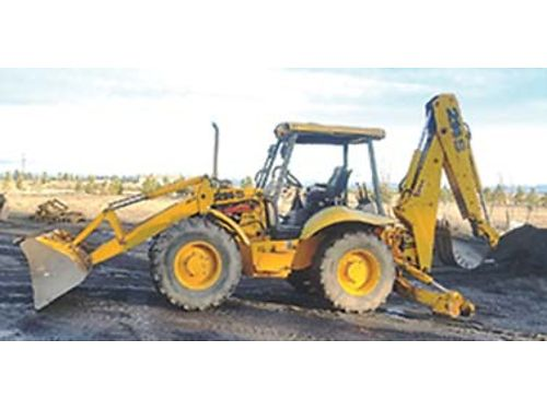 1996 JCB BACKHOE Model 214S-2 crab steering extend-a-hoe 5400 hours 24500