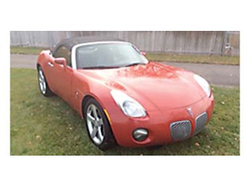2006 PONTIAC Solstice 53k miles 5spd MT convertible ready to roll 8700 C