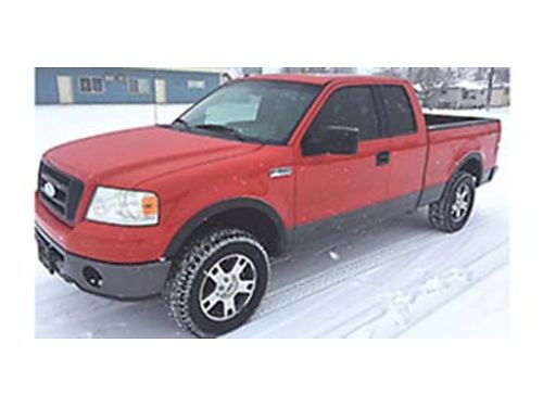 2006 FORD F-150 FX4 series 54 Liter V8 motor with 148K miles Loaded with powe