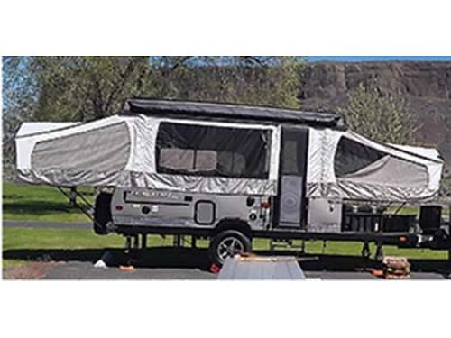 2017 FLAG-STAFF 23 SE SC tent trailer nearly new most options 13980 OBO 509-279-9108