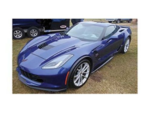 2018 CHEVROLET Corvette Grand Sport 2lt Admiral blue with gray interior 8 spd