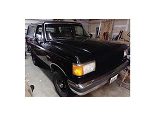 1988 FORD Bronco 4x4 Eddie Bauer exlnt condition w 351 motor  auto trans over 8000 spent on
