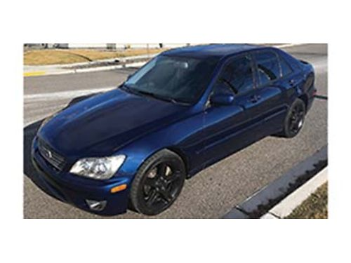 2005 LEXUS IS 300 auto leather all power options sunroof all season tires very well maintained
