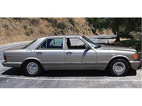 1991 MERCEDES 300SE Two tone New grey paint job 150k miles new gaskets on st