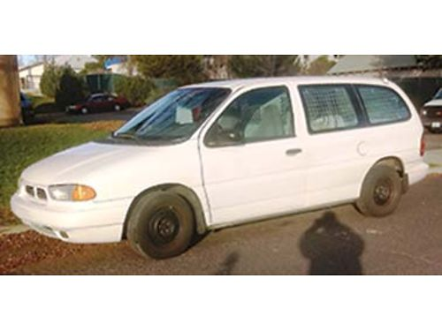 1998 FORD Cargo Van w 49K orig miles one owner vehicle with maintenance record