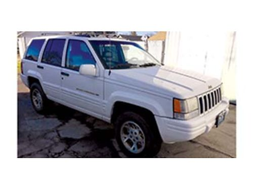 1998 JEEP Grand Cherokee Limited V8 motor with 157k miles 4x4 great condition