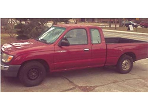 1998 TOYOTA Tacoma 2nd owner great service 110000 miles auto tranny 6000