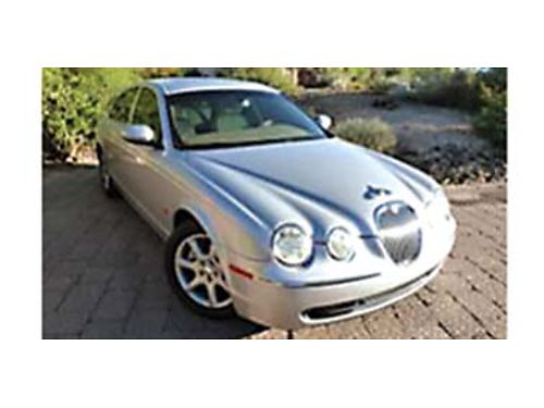 2005 JAGUAR S-Type 42 Immaculate condition 83K miles Power Cruise Dual AC bluetooth AMFM6