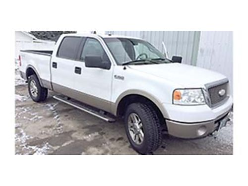 2006 FORD F-150 Lariat 4x4 leather all power sunroof and tow package four do