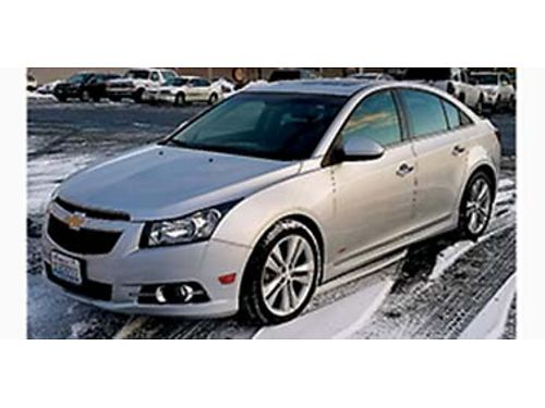 2013 CHEVROLET Cruze LTZ RS 47k miles clean fully loaded all power options leather sunroof re