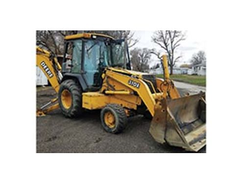 2000 JOHN Deere 310E 4x4 extend-a-hoe 4 in 1 bucket new tires plumbed for hammer hammer extra