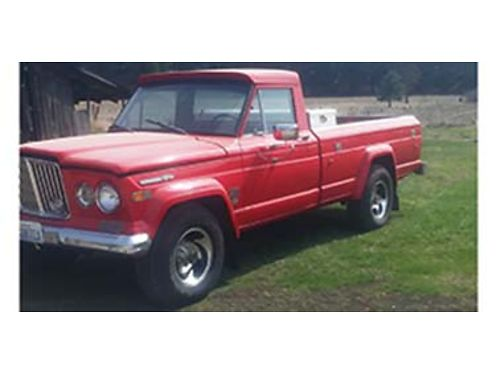1970 JEEP Gladiator 1 owner excellent condition restored new upholstery cus