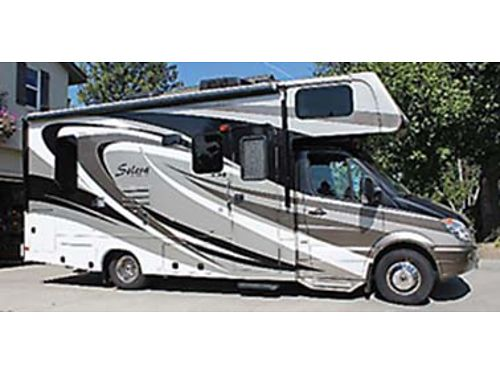 2013 FOREST River Solera Class C 24  Mercedes Sprinter chassis turbo-charged diesel Artic pack 2
