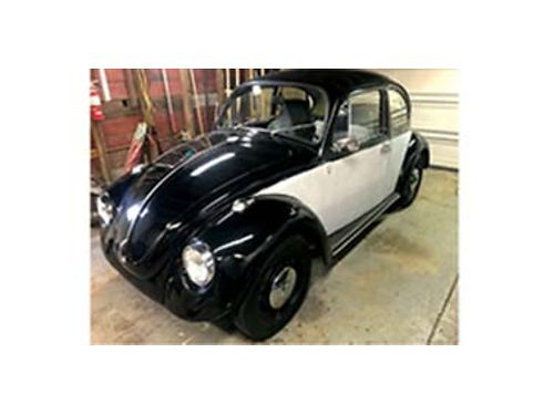 1969 VW BEETLE 1600cc engine runs great New brakes and brake cylinders New tir