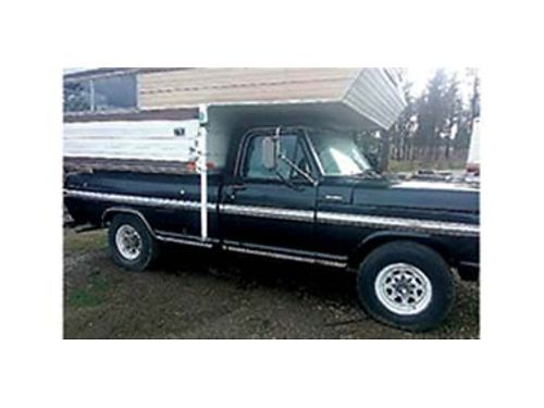1971 F-250 Ford Ranger XLT 360 automatic with 40k on engine 2250 Firm 509-72