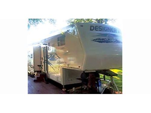 2006 JAYCO 31 RLTS equipped w electric fire place fridge stove AC 3 slide