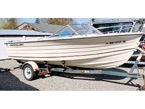 1974 REINELL 188hp in  out board runs great seating for 6 aqua interior clo