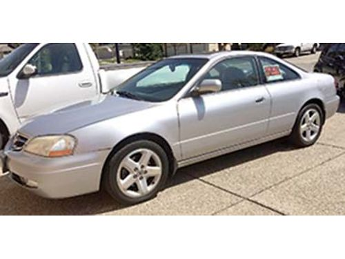 2001 ACURA 32 CL Type S auto loaded 1 owner no smoking or pets mechanically exc great gas mi