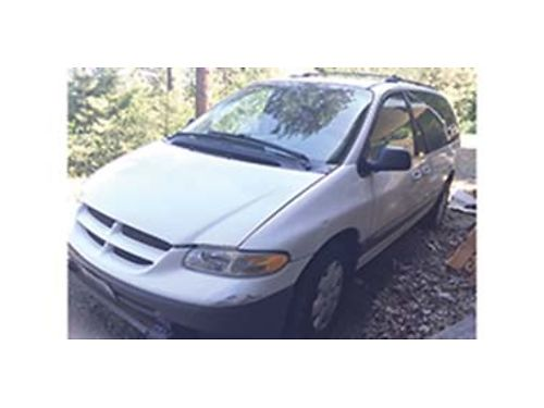 1999 DODGE Caravan 38 ltr 200k miles well maintained and runs great 1400
