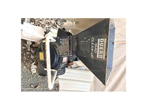 DUERR Wood Chipper 8 hp 399 509-939-1539