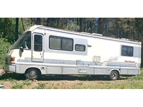 1993 DUTCHMAN 29ft 463 Ford 36594 mi new tires from Les Schwab in good shape inside  out its