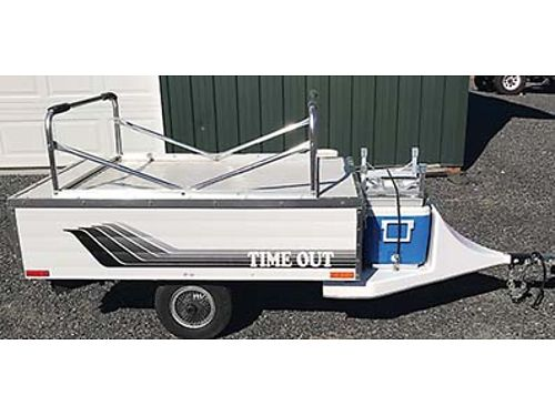 TENT TRAILER MOTORCYCLE or small car Like new condition Asking 2200 OBO 509-431-5593 Seious ca