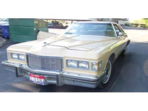 1976 BUICK Riviera Coupe 455 engine 88k miles shes sweet treat her like a lady 8000 Call Joh