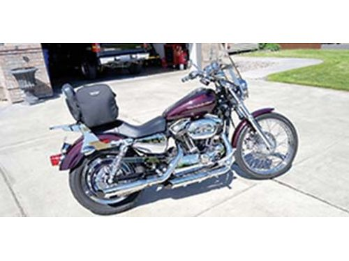 2006 HARLEY Davidson 1200 Classic 8500 miles perfect condition senior owned burnt cherry in colo
