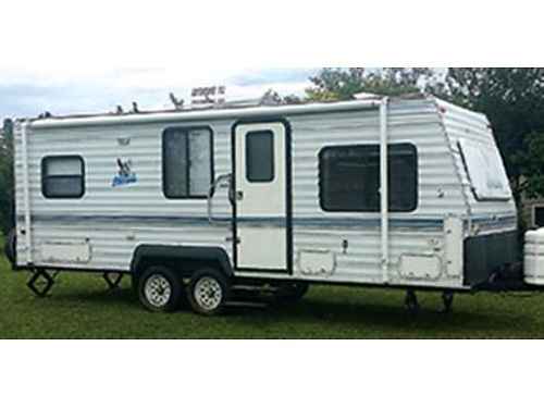 2001 NASH 24 travel trailer built for the Northwest current license and clear title 4700 509-46