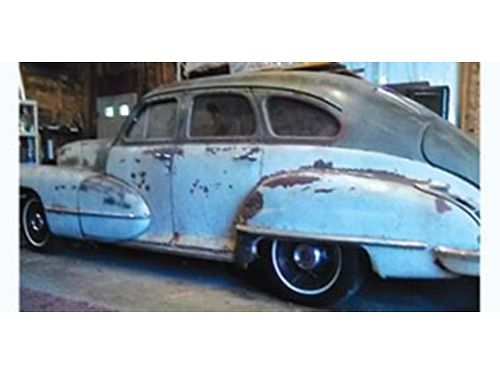 1946 CADILLAC 4 door fast back V8 auto no rust straight and complete not r