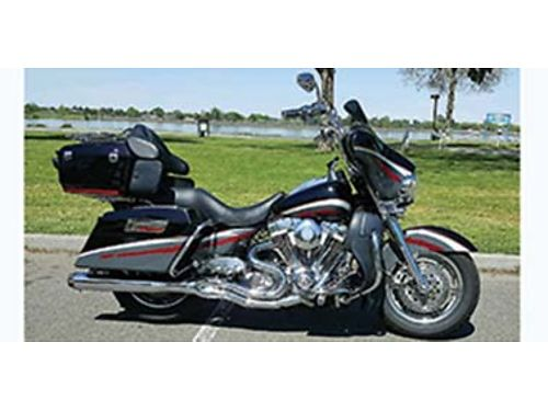 2006 HARLEY Davidson Ultra Classic CVO very clean many extra extensive engine work air ride mid