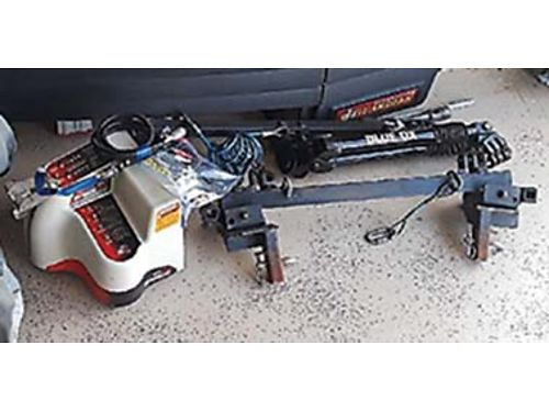 RV Accessories package tow bar Ever brake braking system bug and rock deflect