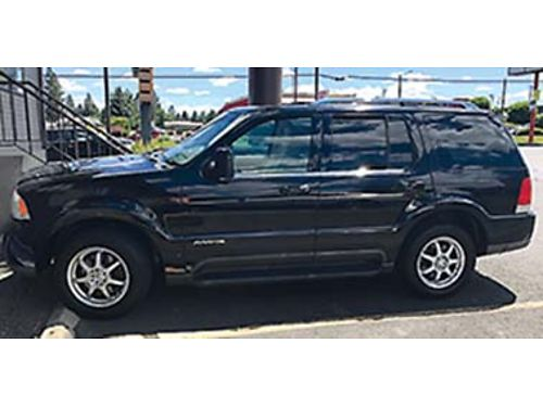 2004 LINCOLN Aviator AWD SUV 220000 miles with 2 two sets of tires and ri