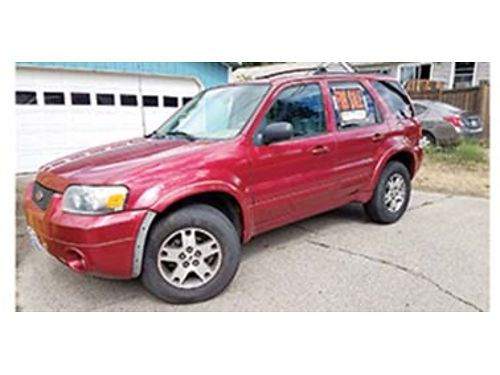 2005 FORD Escape FWD runs great one owner 2500 OBO Call 360-827-5677 Spokane