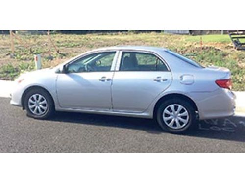 2010 TOYOTA Corolla LE 47k miles runs great clean accident free 9850 OBO