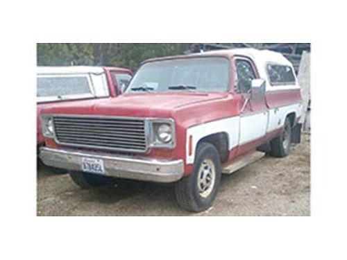 1977 CHEVROLET 34 ton 350 auto been a dependent truck just dont use it any