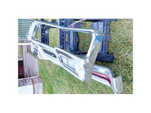 1970 NICE ORIGINAL used classic Buick Chrome Bumper set Wildcat or Le Sabre Also Skylark or GS
