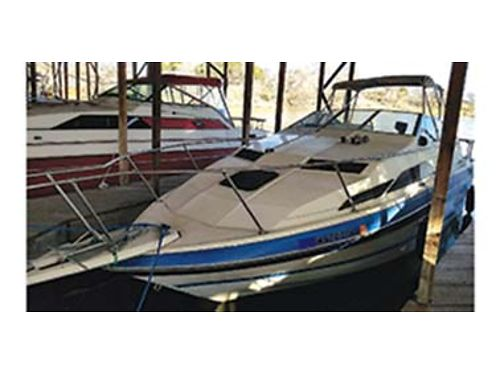 1988 24FT Bayliner Ciera Series 2455 Sunbridge family boat 517L Gas powered