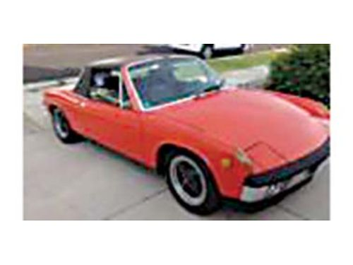 1970 PORSCHE 914-17 Survivor car 2nd Owner Superior original condition no rust always garaged