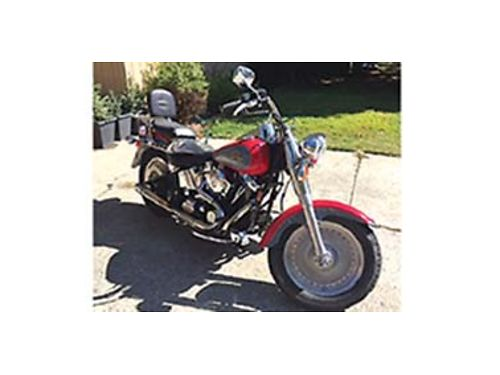 1998 FAT Boy Lots of extras tuned header dyna carb kit carb filter KN custom air cleaner housi