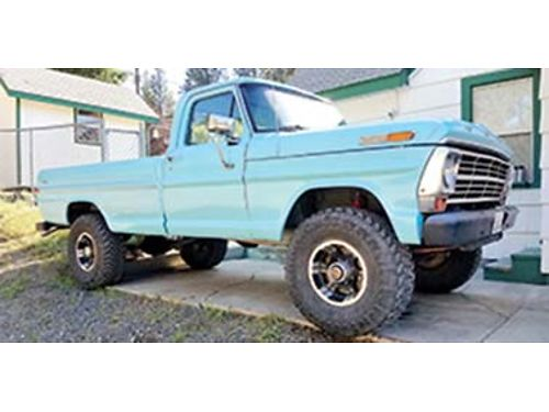 1972 FORD F250 Highboy 4x4 four speed manual Professionally rebuilt 390 with receipts MSD ignition