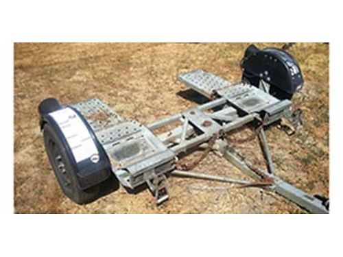 DEMCO TOW DOLLY, SURGE BRAKES, REBUILT WHEEL ...
