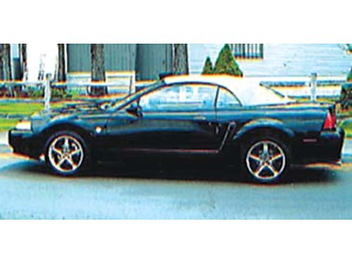 1999 35TH ANNIVERSARY SPECIAL EDITION MUSTANG CONVERTIBLE, ...